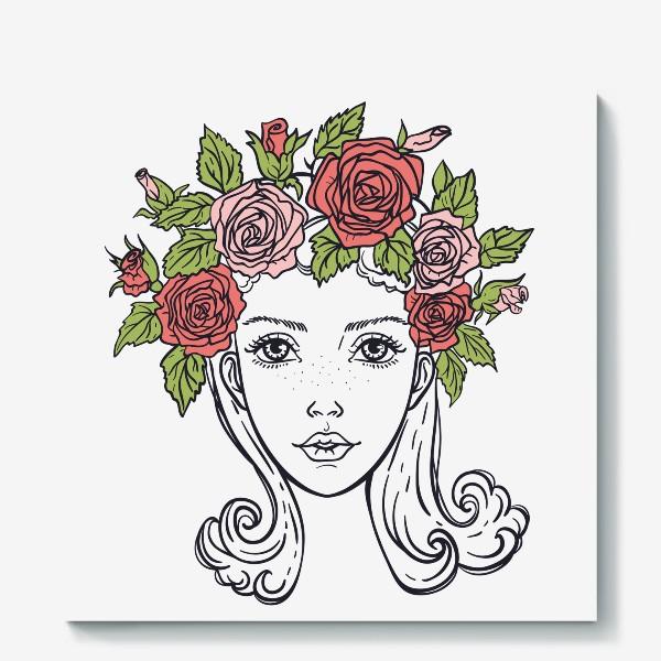 Холст «Розы»