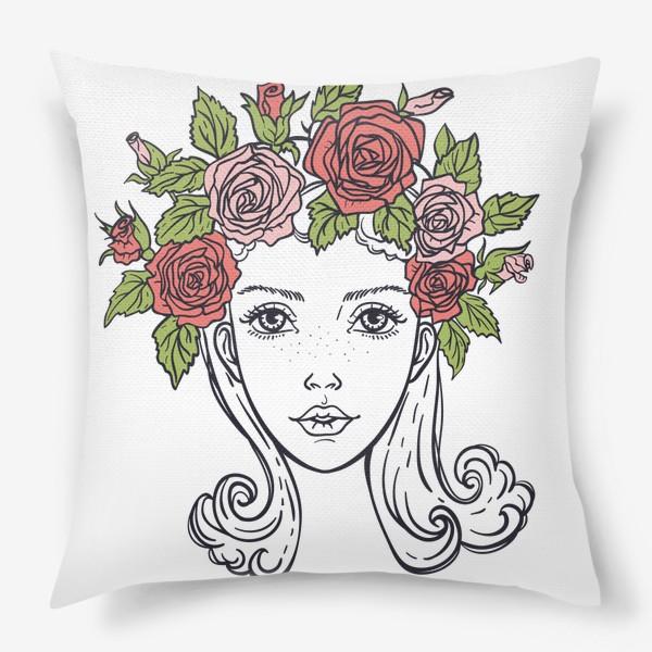 Подушка «Розы»