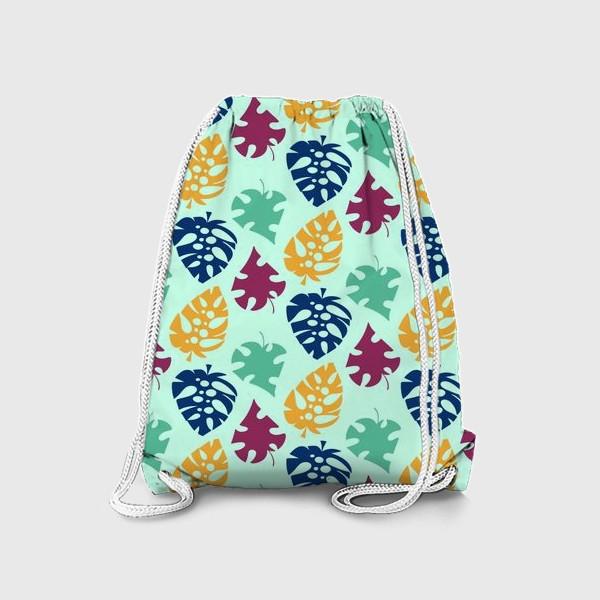 Рюкзак «Пестрый тропический листопад»