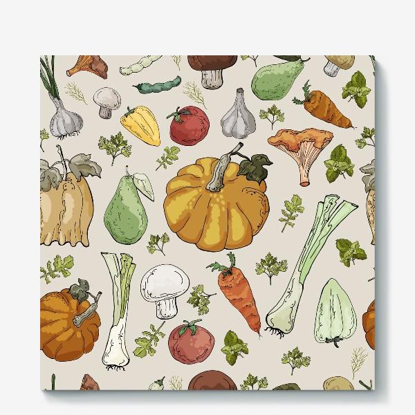 Холст «Овощное разнообразие»