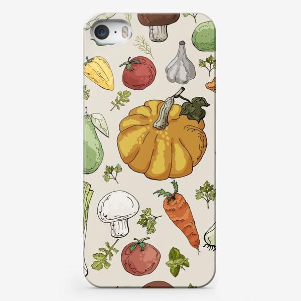 Чехол iPhone «Овощное разнообразие»