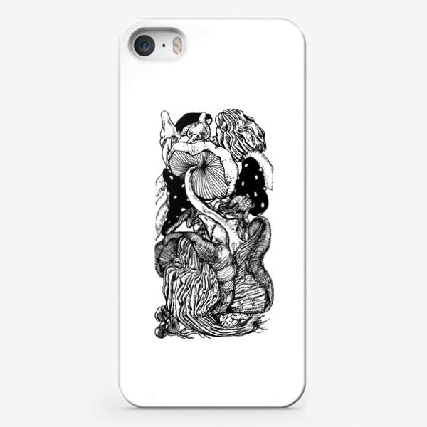 Чехол iPhone «Грибная тема »