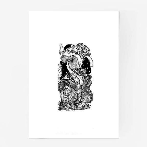 Постер «Грибная тема »