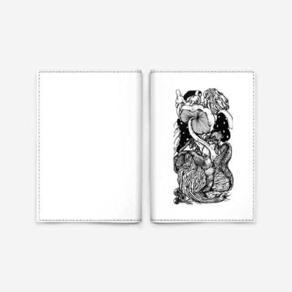Обложка для паспорта «Грибная тема »