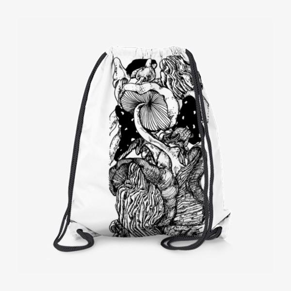 Рюкзак «Грибная тема »