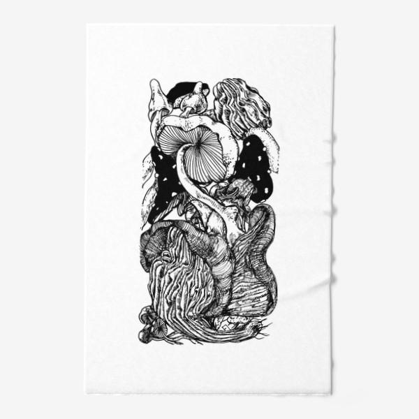 Полотенце «Грибная тема »