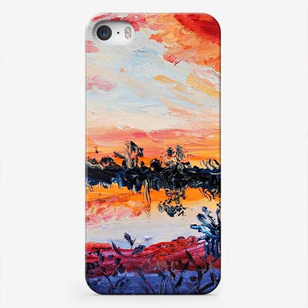Чехол iPhone «Закатное небо»