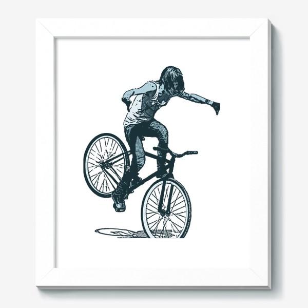 Картина «Punk Girl Biker»