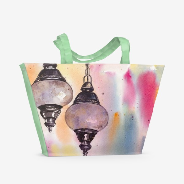 Пляжная сумка «Сны о Стамбуле»