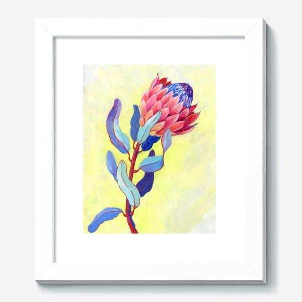 Картина «Яркий цветок протея»