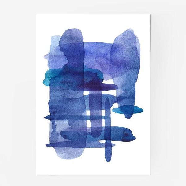 Постер «Акварель. Абстракция»