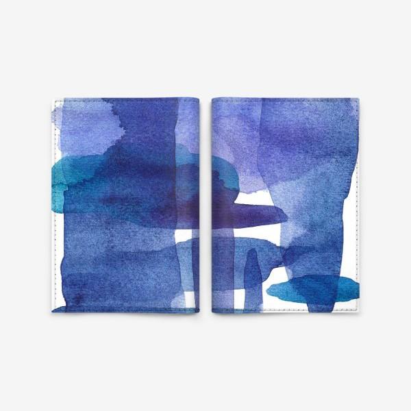 Обложка для паспорта «Акварель. Абстракция»