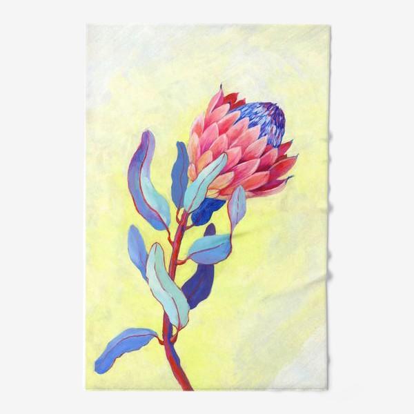 Полотенце «Яркий цветок протея»