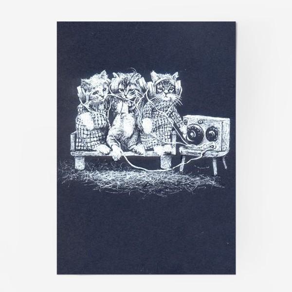 Постер «Три кота, музыка»