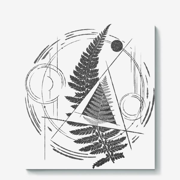 Холст «Fern Abstract Tattoo»