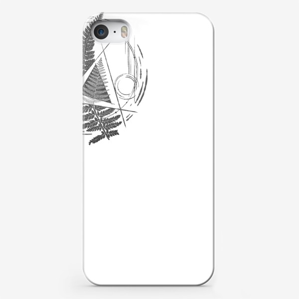 Чехол iPhone «Fern Abstract Tattoo»