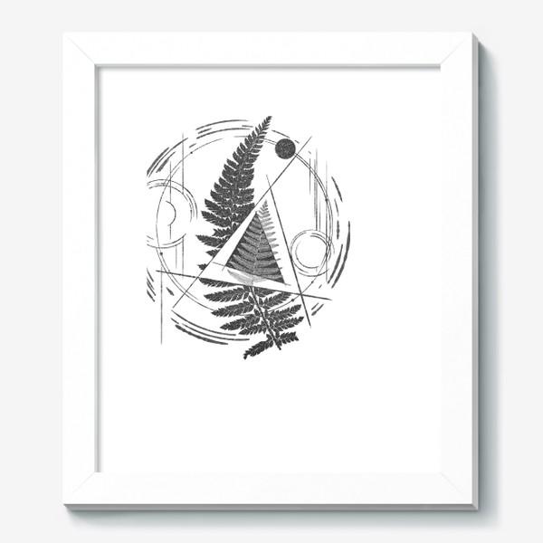 Картина «Fern Abstract Tattoo»