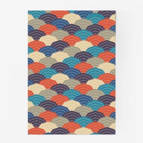 Постер «Японское стёганное одеяло»