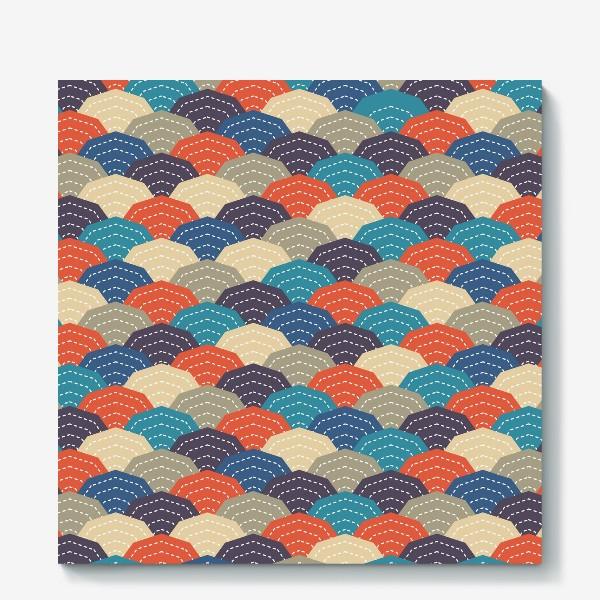 Холст «Японское стёганное одеяло»