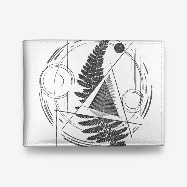 Кошелек «Fern Abstract Tattoo»