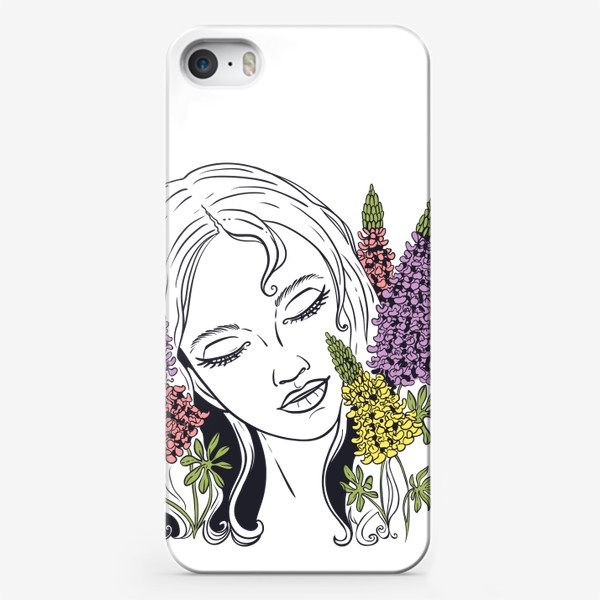 Чехол iPhone «Люпины»