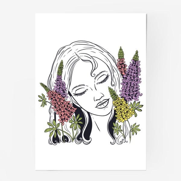 Постер «Люпины»