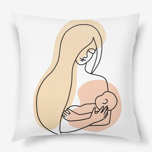 Подушка «Мама и малыш»
