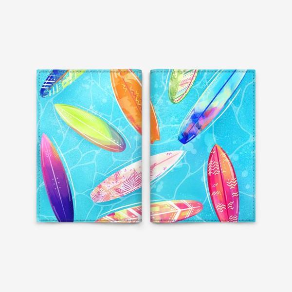 Обложка для паспорта «Сёрфинг»