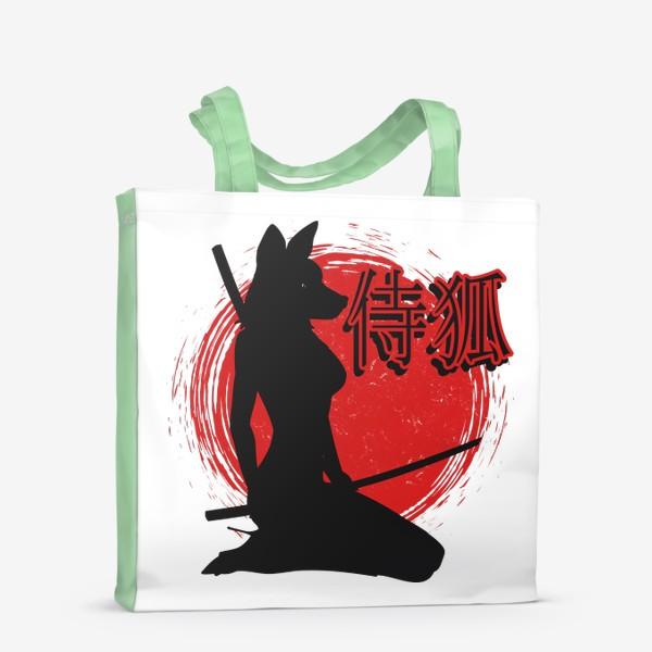 Сумка-шоппер «Samurai Lady Fox»