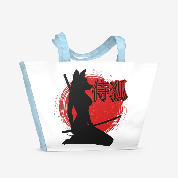 Пляжная сумка «Samurai Lady Fox»