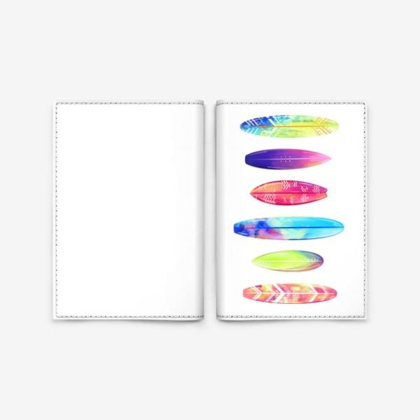 Обложка для паспорта «Серф»