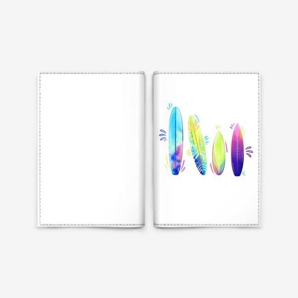 Обложка для паспорта «Доски для сёрфинга »