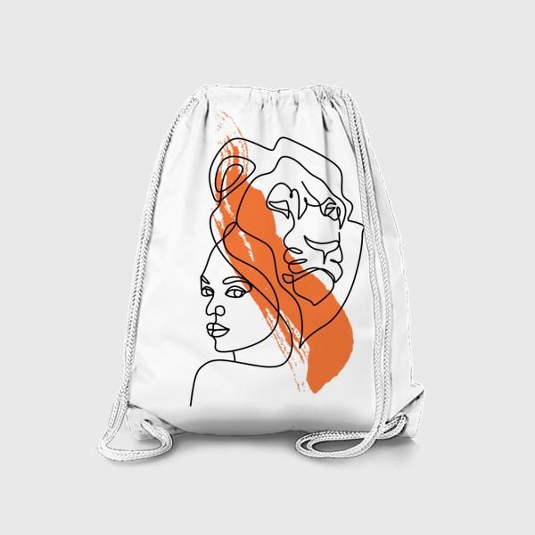 Рюкзак «Девушка-Лев»
