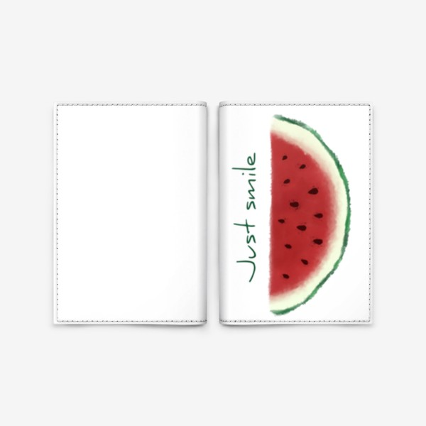 Обложка для паспорта «Арбузная улыбка»