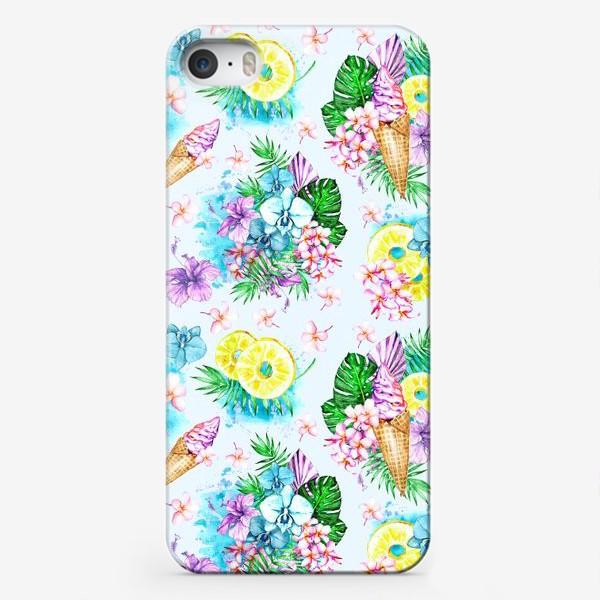 Чехол iPhone «Тропиканка»