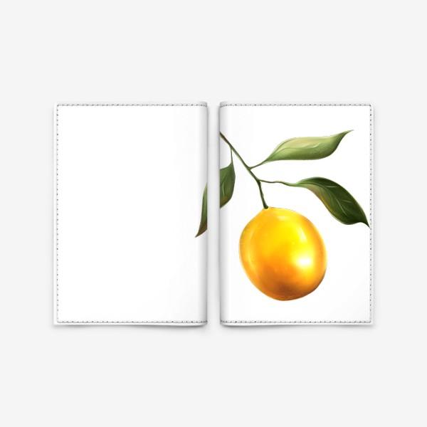 Обложка для паспорта «Лимон»