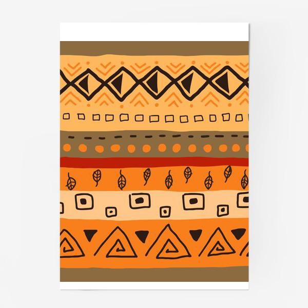 Постер «Ethnic Ornament»