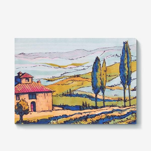 Холст «Toscana 2»