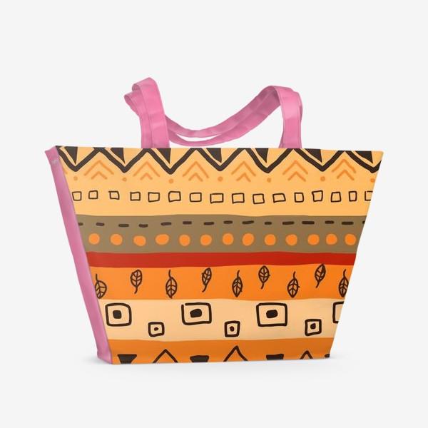 Пляжная сумка «Ethnic Ornament»