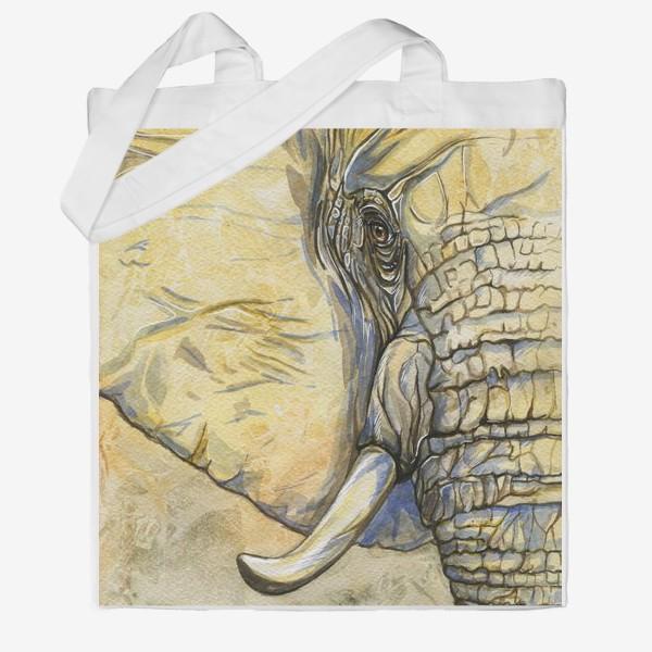 Сумка хб «Слон»