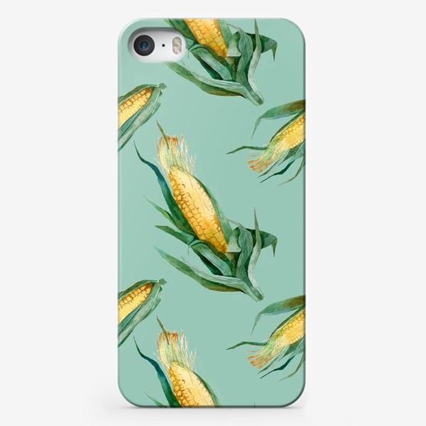 Чехол iPhone «Паттерн Кукуруза»