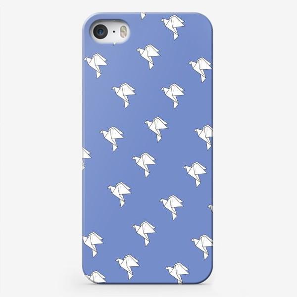 Чехол iPhone «Origami Doves»