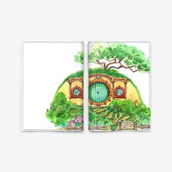 Обложка для паспорта «Шир Хоббит»