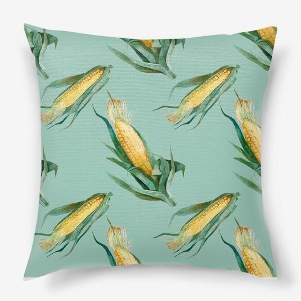 Подушка «Паттерн Кукуруза»