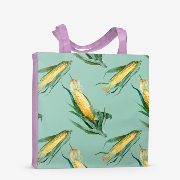 Сумка-шоппер «Паттерн Кукуруза»