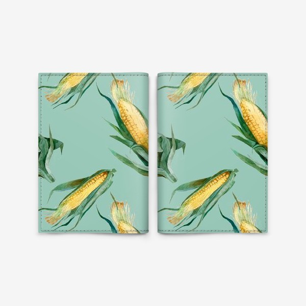 Обложка для паспорта «Паттерн Кукуруза»