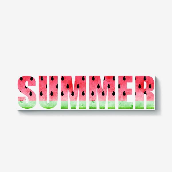 Холст «Summer Watermelon (Арбузное Лето)»