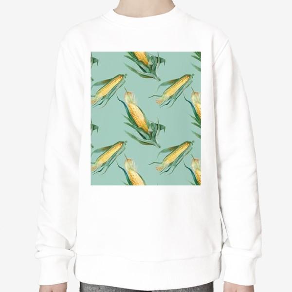 Свитшот «Паттерн Кукуруза»