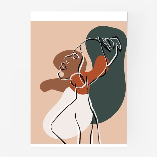 Постер «African»