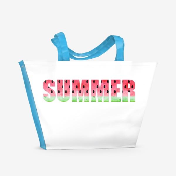 Пляжная сумка «Summer Watermelon (Арбузное Лето)»